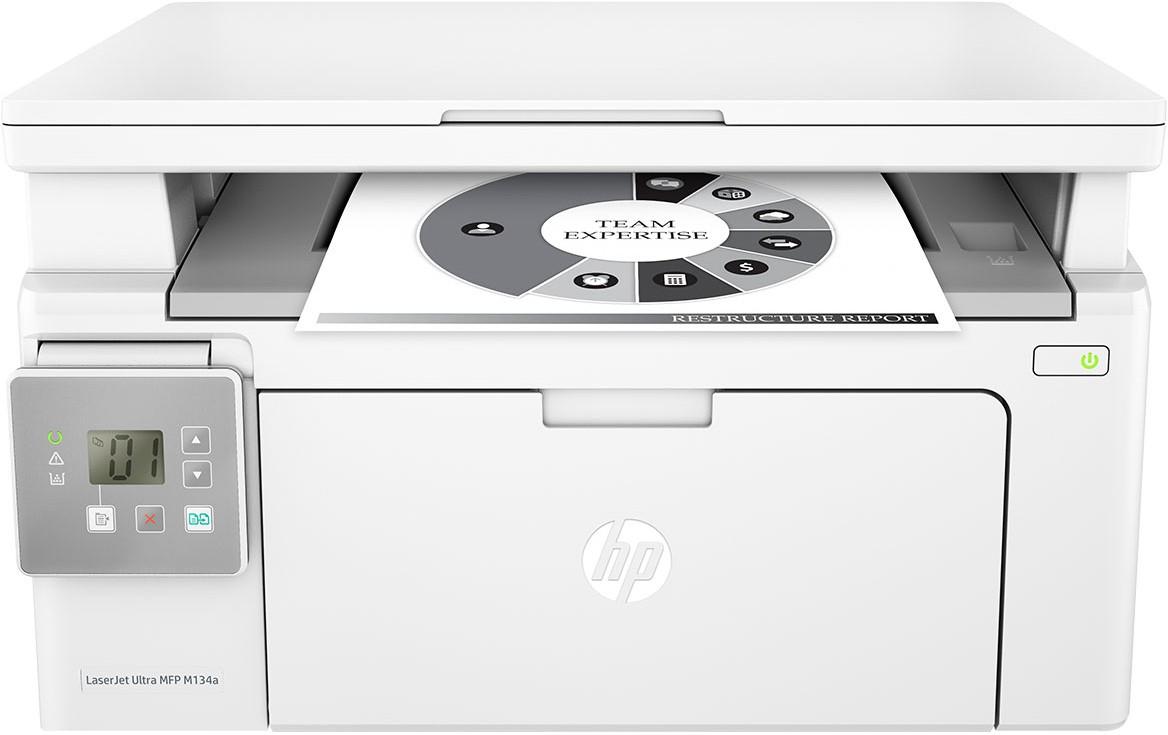 HP LaserJet Ultra MFP M134a Multi-function Printer(White)