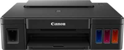 Canon Pixma Ink Tank G 1000 Single Function Printer(Black)