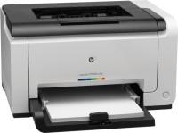 HP LaserJet Pro CP1025 Single Function Printer(White, Toner Cartridge)