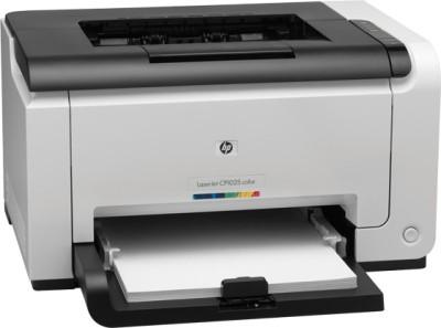 HP LaserJet Pro CP1025 Single Function Printer(White)