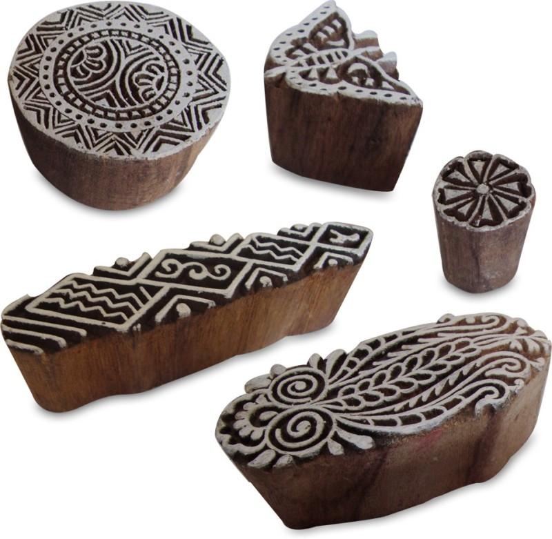 Royal Kraft Htag0005 Printing Blocks(Pack of 5)