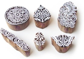 Royal Kraft Htag0706 Printing Blocks(Pack of 6)