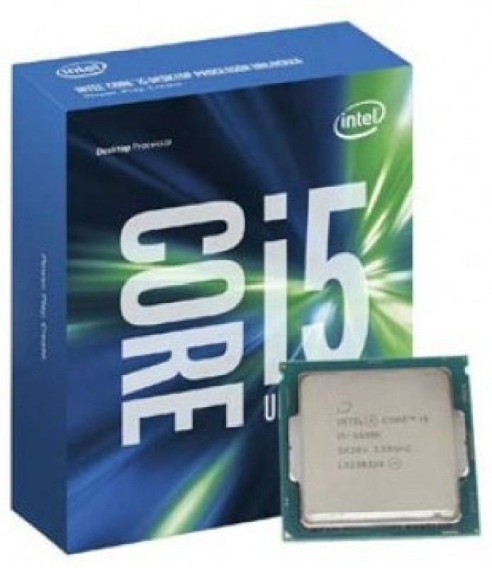 Intel 3.5 GHz LGA 1151 i5 6600k Processor(Grey)