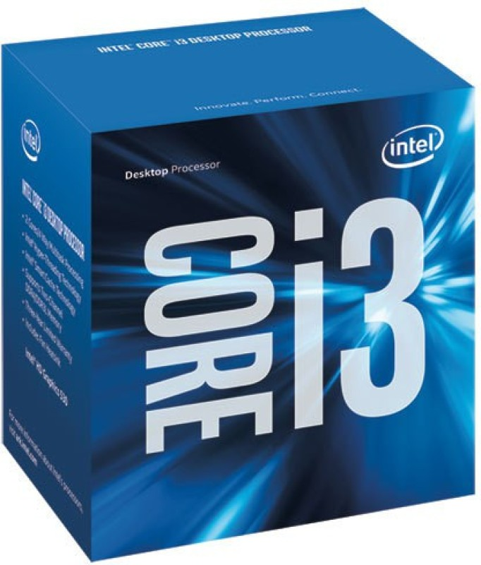 Intel 3.7 GHz LGA 1151 i3 6100 Processor(Silicon)