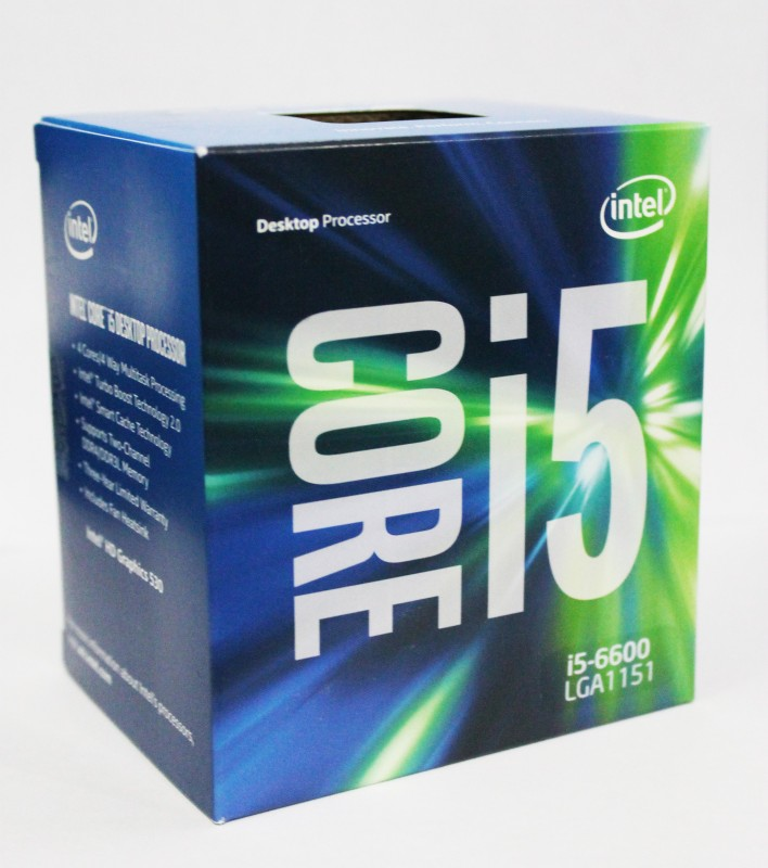 Intel 3.9 GHz LGA 1151 i5-6600 Processor(Gray)