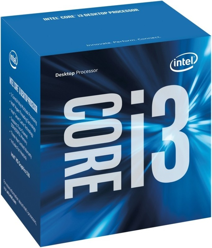 Intel 3.6 GHz LGA 1151 i3-6098 Processor(Gray)