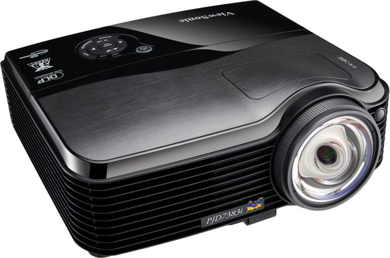 ViewSonic PJD 7383i Projector(Black)