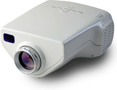 Zingalalaa 150 lm LED Corded Portable Projector(White)