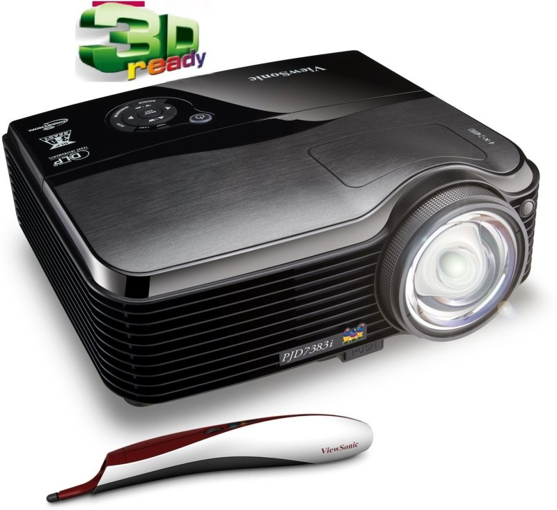 Viewsonic PJD 7383i Portable Projector(Black)