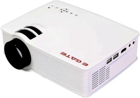 EGATE 1200 lm LED Corded Portable Projector