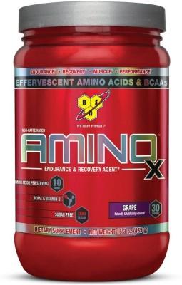 BSN Amino X Whey Protein, Soy Protein, Egg Protein, Casein Protein, Glutamine