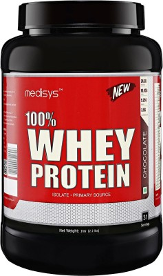 Medisys 100 %Whey Protein - Chocolate - 1kg Whey Protein(1 kg, chocolate)