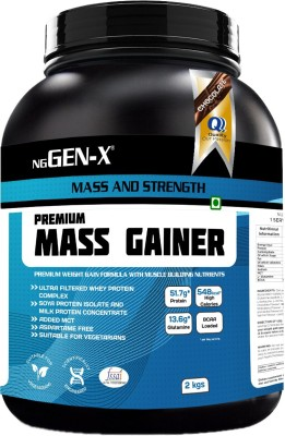 NG GEN-X Premium Mass Gainer Weight Gainers