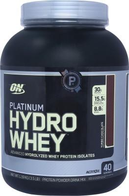Optimum Nutrition Platinum Hydro Whey Protein(1.59 kg, Turbo Chocolate)