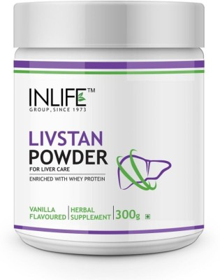Inlife Livstan, Liver Support Formula Whey Protein(300 g, Vanilla)