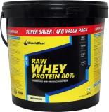 MuscleBlaze Raw Whey Protein (4 kg, Unfl...