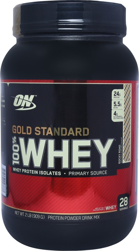 Optimum Nutrition Gold Standard 100% Whey Protein(0.907 kg, Rocky Road)