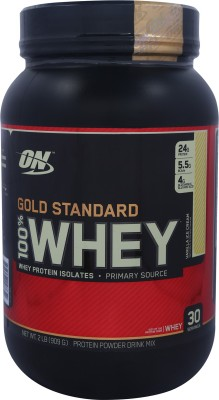 Optimum Nutrition Gold Standard 100% Whey Protein(0.907 kg, French Vanilla Crme)