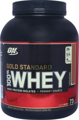 Optimum Nutrition Gold Standard 100% Whey Protein(2.27 kg, Chocolate Malt)