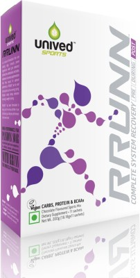 Unived RRUNN Post Box Whey Protein, Soy Protein