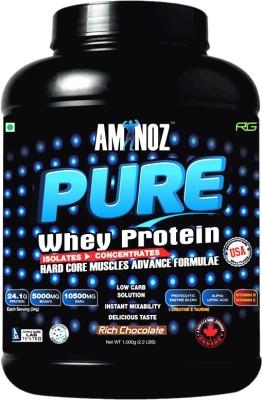 Aminoz Pure Whey Protein(1 kg, Chocolate)