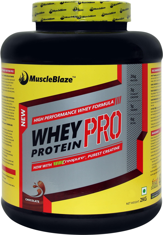 MuscleBlaze Whey Protein Pro Advanced Whey2 kg Chocolate
