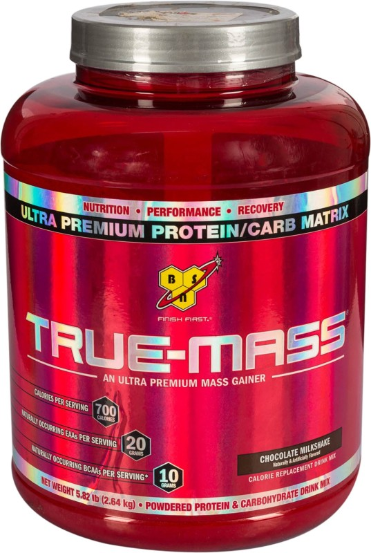 BSN True-Mass Mass Gainers(2.64 kg, Chocolate Milkshake)