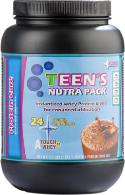 KUDOS NUTRITIONS Teens Nutra Pack - 2.2lbs (1kg) - Double Rich Chocholate Nutrition Drink(1 kg, Double Rich Chocholate)