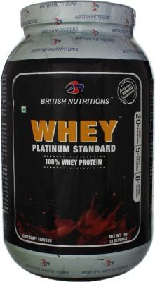 British Nutrition Platinum Standard Whey Protein
