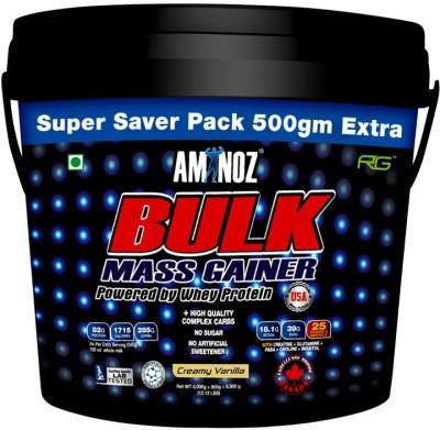 Aminoz Bulk Whey Protein(5.5 kg, Vanilla)