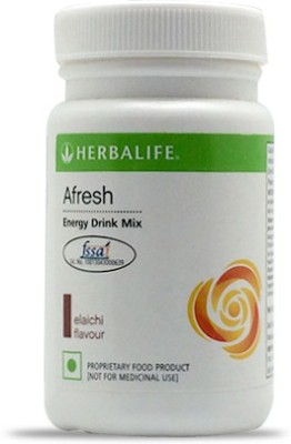 Herbalife Afresh Energy Drink Mix - Elachi Flavor Protein Blends