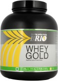Brio Whey Gold Whey Protein (2 kg, Straw...