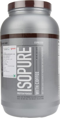 Nature's Best Isopure with Coffee Whey Protein