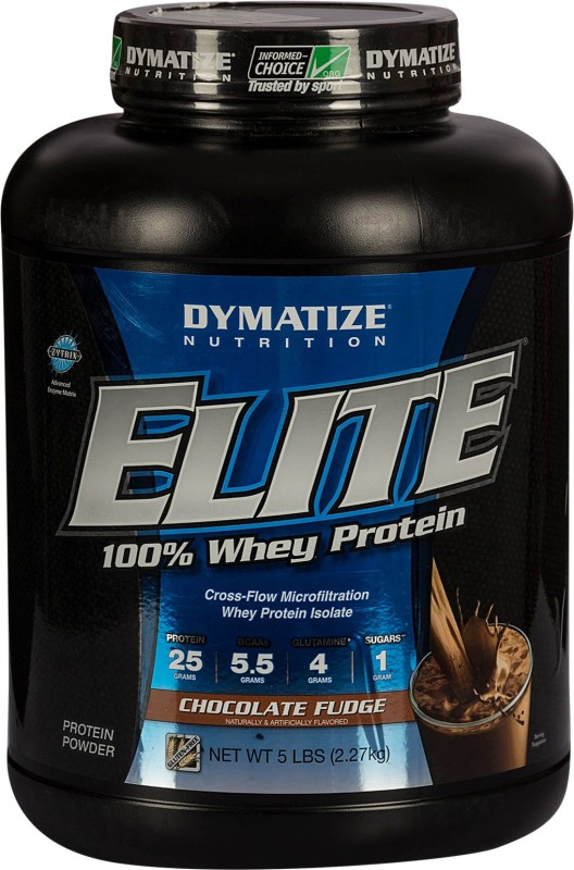 Dymatize Elite Whey Protein(2270 g, Chocolate)