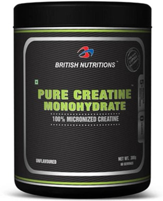 British Nutrition Pure Creatine Monohydrate Creatine