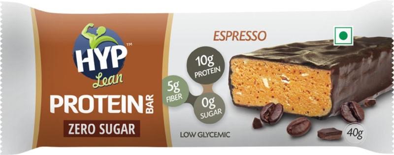 HYP Espresso (Box of 6) Protein Bars(40 g, Espresso)