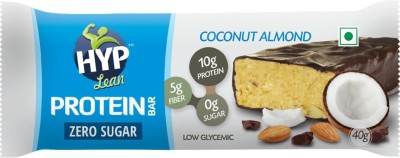 HYP Coconut Almond (Box of 6 Bars) Protein Bars(40 g, Coconut, Almond)