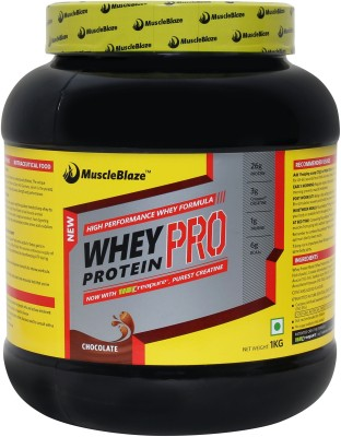 MuscleBlaze Pro with Creapure Whey Protein
