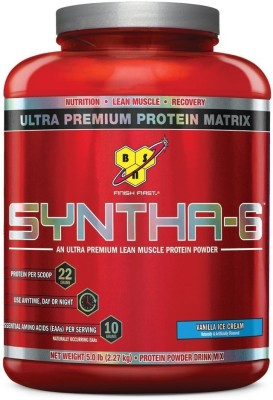 BSN Syntha - 6 Whey Protein, Soy Protein, Egg Protein, Casein Protein, Glutamine