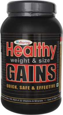 Wellspring Healthy Weight Gainers