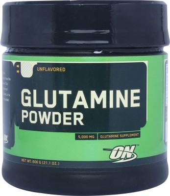 Optimum Nutrition Glutamine Powder Glutamine(0.6 kg, Unflavored)
