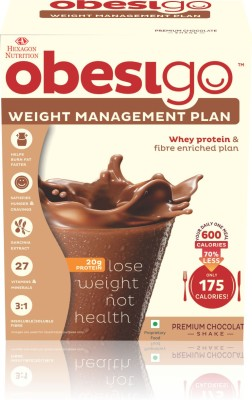 OBESIGO BLCD CHOCOLATE 50 GM BOX Whey Protein(350 g, Chocolate)