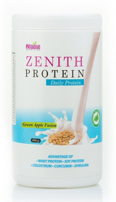 Zenith Nutrition Daily Protein 300gms Protein Bars(300 g, Green Apple)