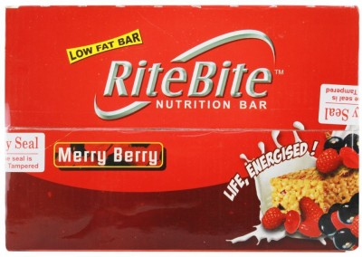 Ritebite Max Protein Merry Berry - Pack of 24 Protein Bars(35 g, Merry Berry)