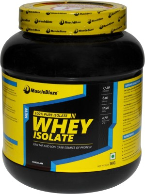 MuscleBlaze Whey Isolate Whey Protein