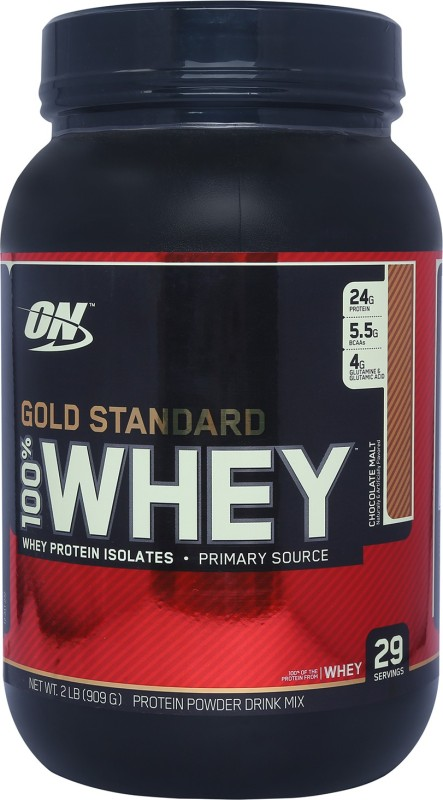 Optimum Nutrition Gold Standard 100% Whey Protein(0.907 kg, Chocolate Malt)