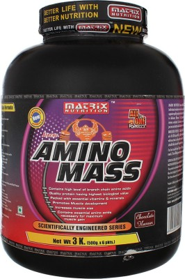 MATRIX Nutrition Amino Mass Mass Gainers