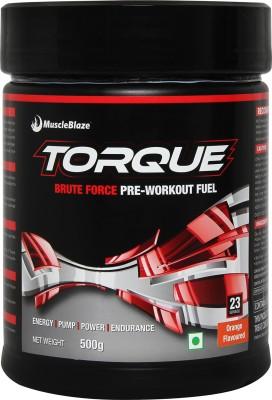MuscleBlaze Torque Pre-Workout Nutrition Drink(500 g, Orange)