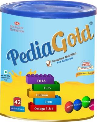 PEDIA GOLD MANGO 400GM Whey Protein(400 g, Mango)