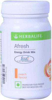 Herbalife Afresh Energy Drink Mix - 50gms - Peach Flavour Protein Blends